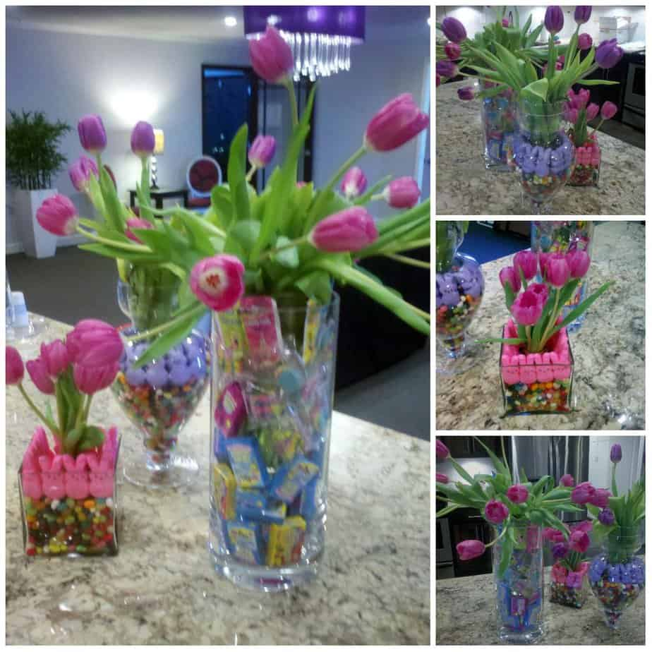Easy easter centerpieces an alli event