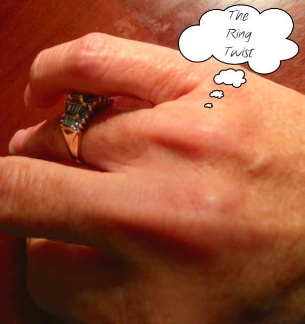 Twirling Ring On Finger