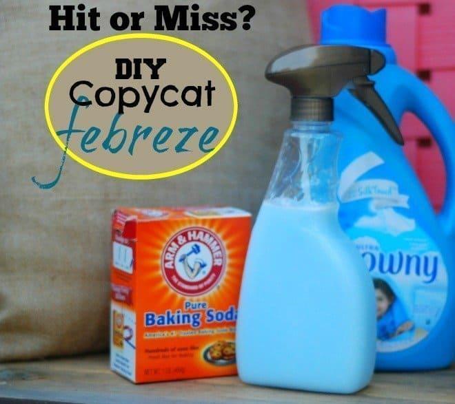 Hit or Miss?  DIY Copycat Febreze