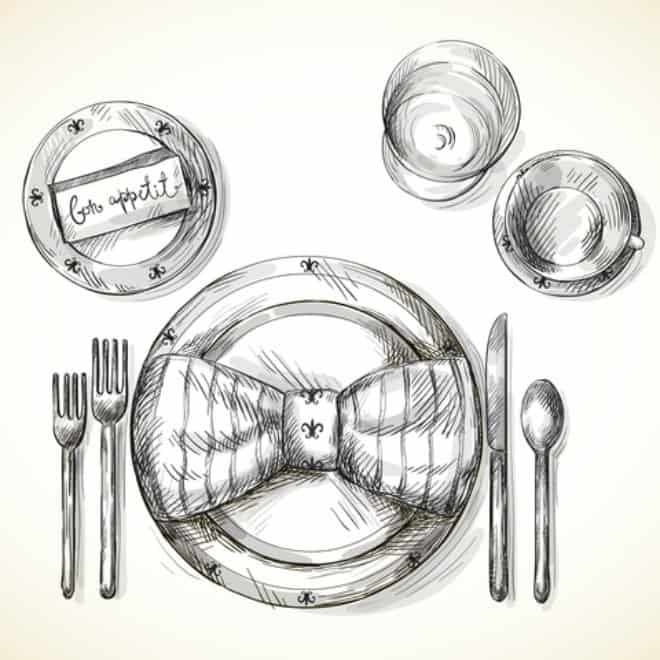 Formal Table Setting  sc 1 st  An Alli Event & How to Set a Formal Dinner Table - An Alli Event