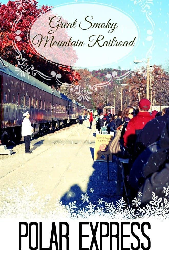 Polar Express Train Ride in the Smoky Mountains