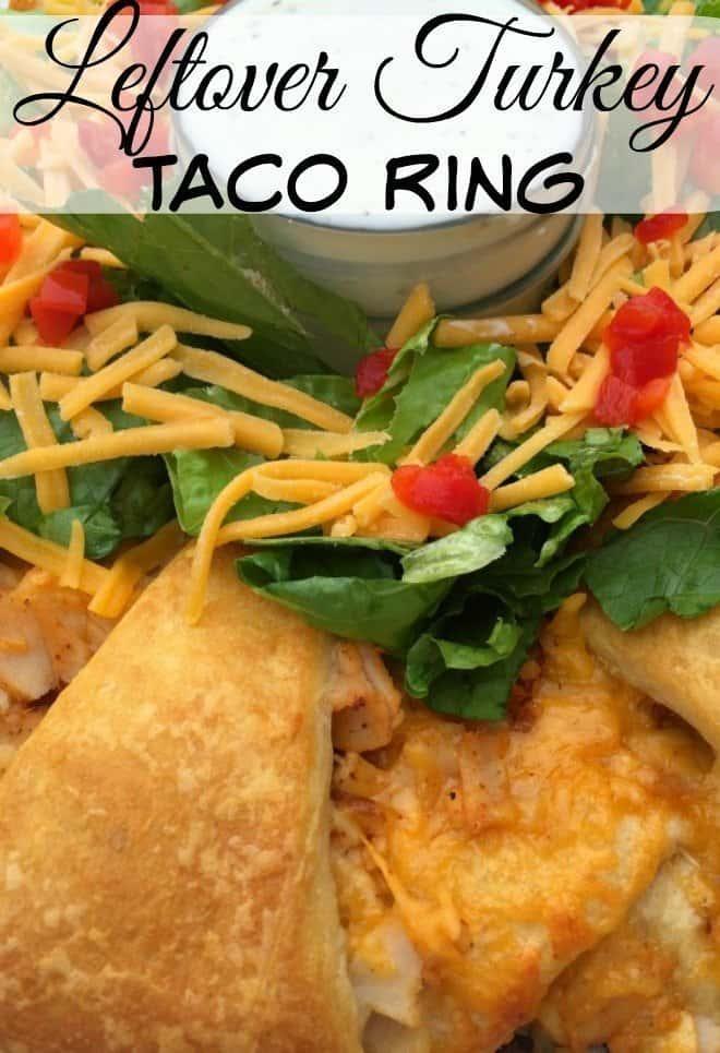 Turkey Taco Ring