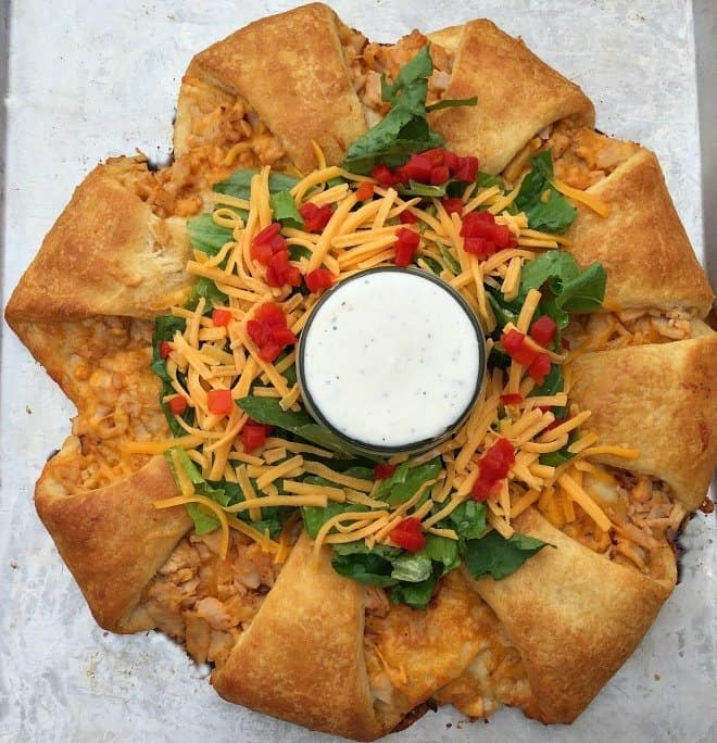 Leftovers?  Try my turkey taco ring!