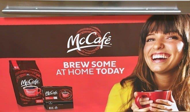 McCafe Coffee Pods