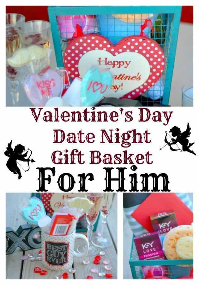 valentine's day date night gift basket for him - an alli event, Ideas